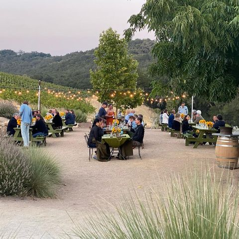 Our #SummerSunsetSupper this past weekend was one to remember. A special thank you to Chef Alex Seidel @bigaseidel for putting together a flawless dinner. See y'all at the next one!   #WineDinner #Mercantile #Fruition #Supper #PasoWine #MAHA #VillaCreek