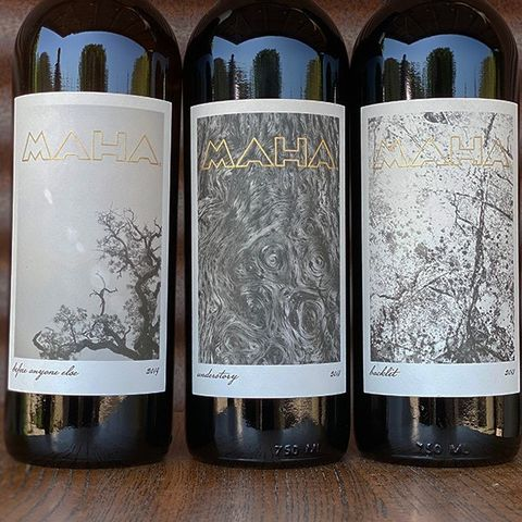 """Hey y'all! Our latest MAHA release is available now! R.H. Drexel for jebdunnuck.com says, """"Bae (Before Anyone Else), made with 100 % Clairette grapes, is one of the most beautiful white wines I've had from California for quite some time."""" Log in to your allocation and reserve yourself some of these beauties. If you are not on the list, sign up for an automatic allocation using linktree in our bio. #ORGANICWINE"""